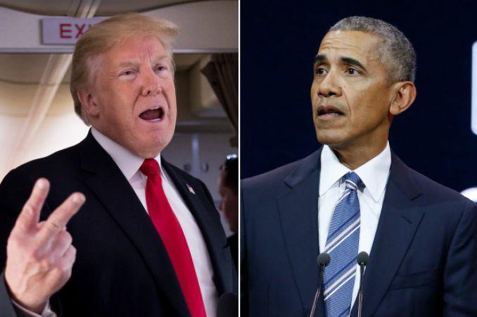डोनाल्ड ट्रम्प ने अब बराक ओबामा पर लगाए भ्रष्टाचार के आरोप