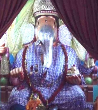 उज्जैन के प्रसिद्द गणेश मंदिर में चढ़ेगी 7 फीट की राखी