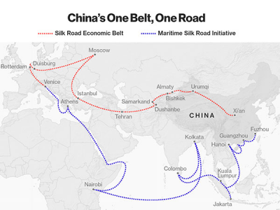 India refuses to support 'OBOR' China's mega connectivity Project, Reiterating Stance