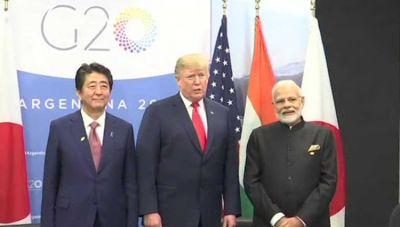 जी-20 सम्मलेन : पीएम मोदी बोले जापान, अमेरिका और इंडिया का नया अर्थ है 'जय'