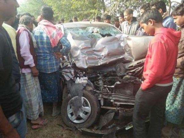 भीषण दुर्घटना में पूरा परिवार ख़त्म