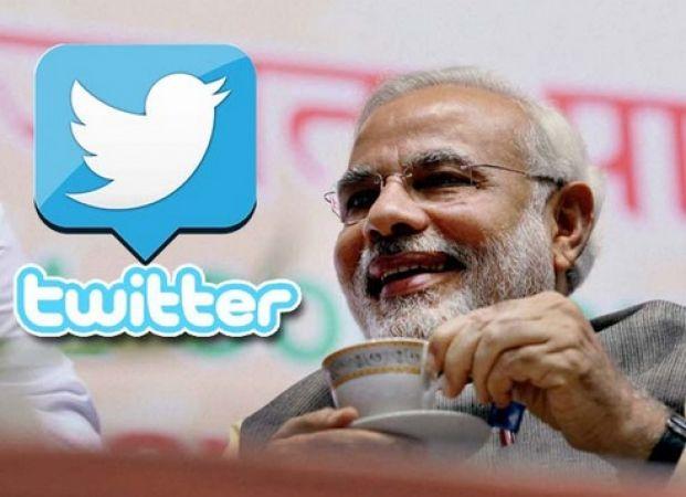 ट्विटर पर पीएम मोदी का जलवा कायम