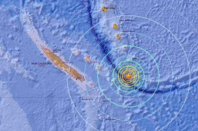 न्यू कैलेडोनिया में आया भयानक भूकंप, सुनामी की चेतावनी और कई इलाके खाली कराने का आदेश जारी