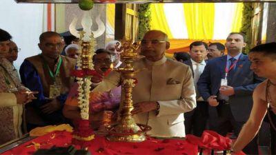 म्यांमार में राष्ट्रपति कोविंद ने किए 187 वर्ष पुराने काली मंदिर में दर्शन