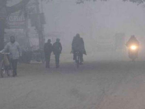 जयपुर : सर्द हवाओं का दौर लगातार चौथे दिन भी जारी