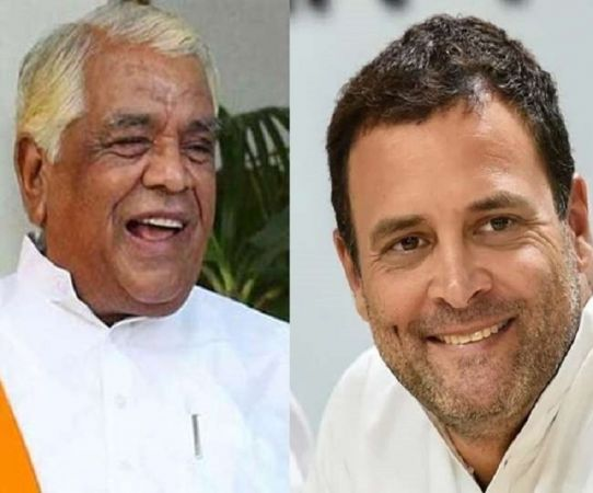 जब राहुल गाँधी ने दिया बाबूलाल गौर को कांग्रेस में शामिल होने का निमंत्रण