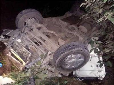 कार के खाई में गिरने से CRPF के 7 जवान हुए ज़ख़्मी