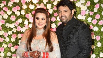 Kapil Sharma and Ginni Chatrath's wedding reception in mumbai : Se all pics Deepika Padukone and Ranveer Singh arrive in an awsome way