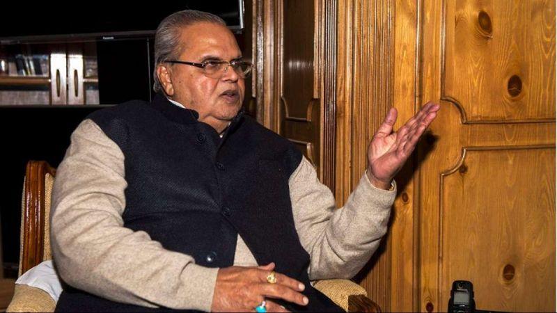 जम्मू कश्मीर के नेता चाहते हैं कि नौजवान मारे जाएं, ताकि दिल्ली पर दबाव बना रहे- सत्यपाल मलिक