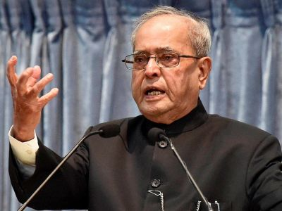 Pranab Mukherjee says, 'EC is a truly unique body', has supervised fair elections for seven decades'