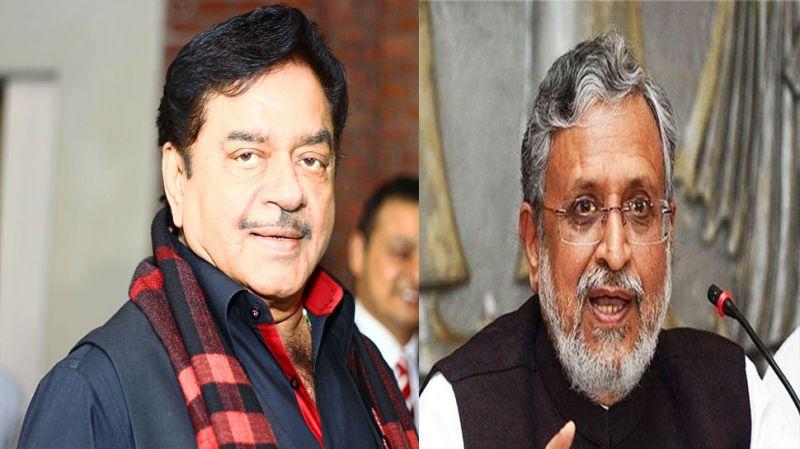 सुशिल मोदी का भाजपा के 'शत्रु' को चैलेंज, कहा पटना से लड़ लें चुनाव