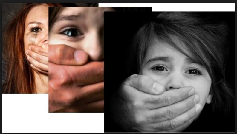 An innocent girl child  became hives of sexual assortment