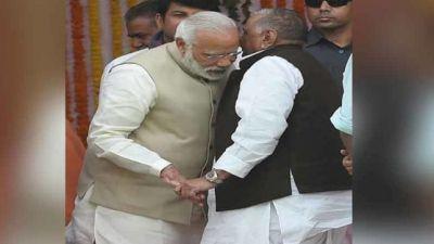 मुलायम की चाहत दोबारा PM बने मोदी, लोकसभा में जमकर की तारीफ़