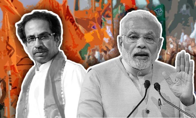 भाजपा ने शिवसेना को दी सीधी टक्कर, गठबंधन को लेकर कोई नहीं जाएगा उद्धव के घर