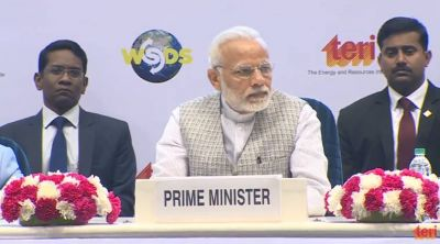 PM Modi recalls six R for sustainable development in WSD summit 2018