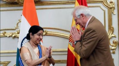 नेपाल भूकंप पीड़ितों की मदद के लिए स्पेन दिया भारत को सम्मान