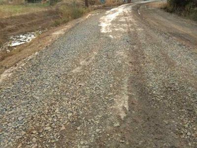 सोनभद्र में नक्सलियों को नहीं भा रहा पक्की सड़क का निर्माण, जेसीबी में लगाई आग