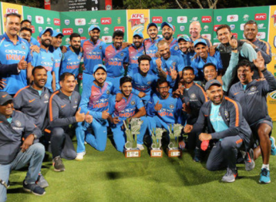 India vs South Africa: India wins T20Is series 2-1