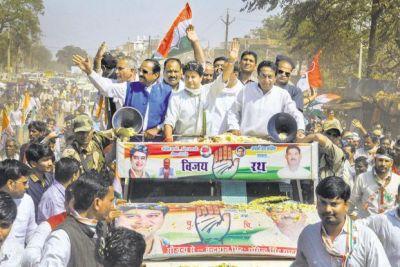मुंगावली में कांग्रेस ने जलाई जीत की 'ज्योति'