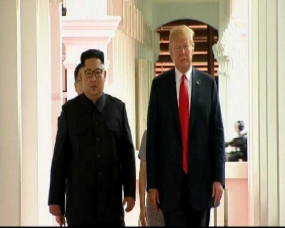 Post  North Korea's warning, Trump  tweets  looking forward to talks with Kim Jong