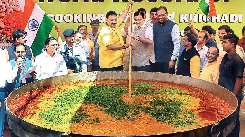 रामलीला मैदान में भाजपा पका रही समरसता खिचड़ी, चखने जाएंगे अमित शाह