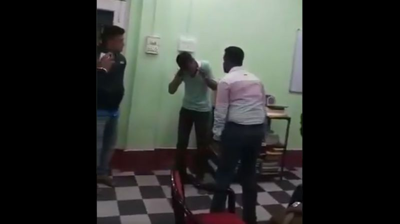 Watch West Bengal IAS officer beat youth for making lewd comments on wife's FB profile, video goes viral
