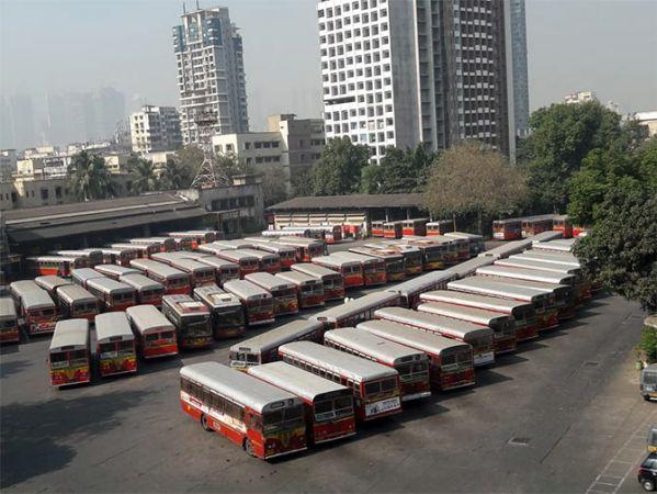 आज लगातार चौथे दिन जारी रही बेस्ट बसों की हड़ताल, मुश्किलों में फंसे लाखों यात्री