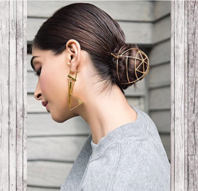 Try Sonam Kapoor's hairdo trick to instantly glam up your casual look