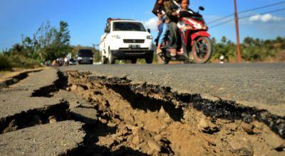इंडोनेशिया में फिर आये भूकंप के झटके