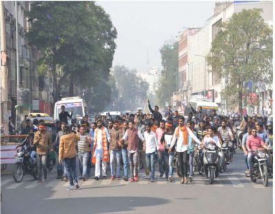 जयपुर में करणी सेना की शांति रैली
