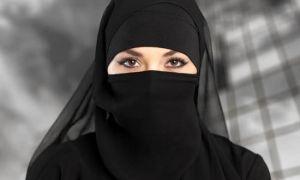हिजाब पहनी मुस्लिम महिला पर हमला