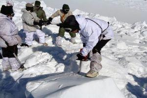 बर्फ के निचे दबने के बाद निकाले गए पांचो जवान हुए शहीद
