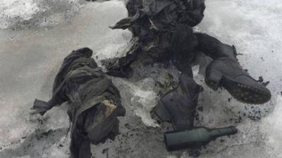 75 साल से बर्फ में दबे कपल की लाश मिली