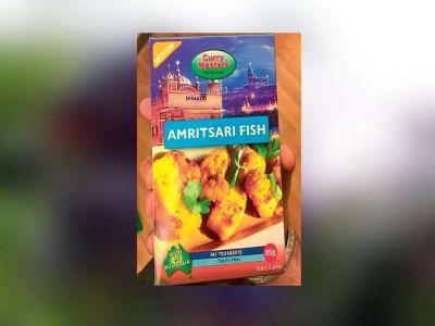 मछली मसाले के पैकेट पर दरबार साहिब की फोटो,सिख संगठन ने जताया ऐतराज
