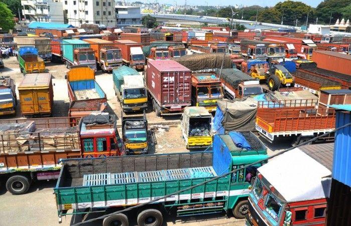 All India motor transport strike: 6th day in progress