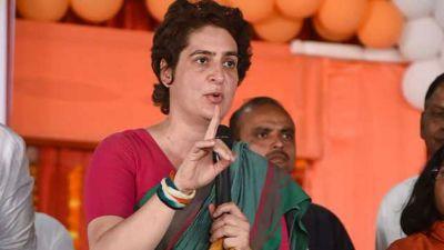Priyanka Vadra slams UP CM Yogi over UPPSC paper leak