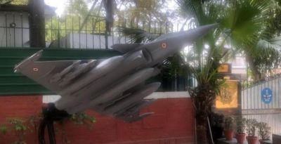 Replica of the Rafale aircraft installed in front of the Congress headquarters, know the reason