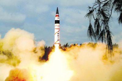5000KM तक वार करने में सक्षम अग्नि-5 का सफल परिक्षण