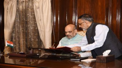 Amit Shah discusses these issues with raw chief and IB Head in a meeting
