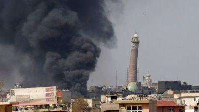 मोसुल की मशहूर नूरी मस्जिद को IS ने विस्फोट कर उड़ाया
