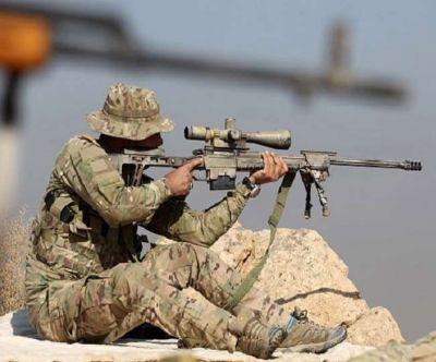 स्नाइपर ने साढ़े तीन किमी की दूरी से सटीक निशाना लगाकर IS आतंकी को उड़ाया