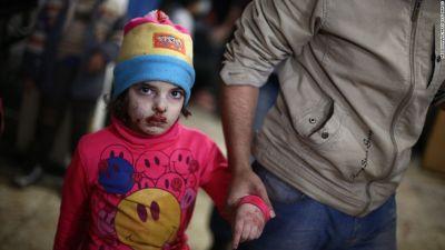 खून की होली खेलती सीरियाई सरकार, फिर की बमबारी