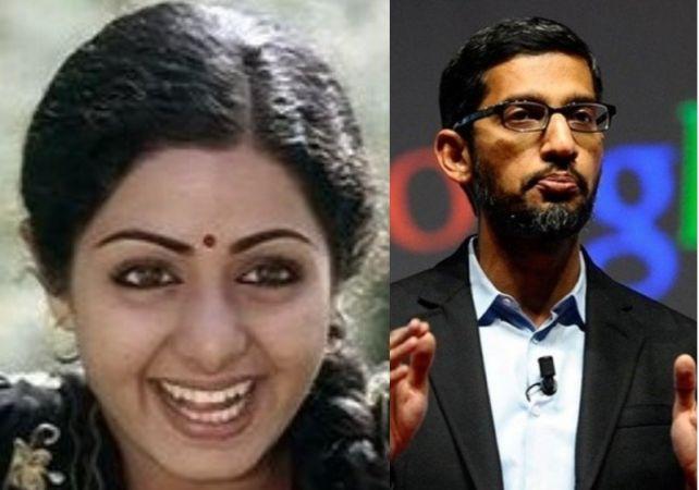 श्रीदेवी की मौत पर भावुक हुए गूगल CEO