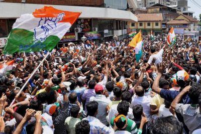 Congress ने किया भाजपा सरकार पर आलू का वार