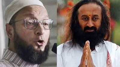 राम मंदिर मामला: श्री श्री रविशंकर को मध्यस्थ किए जाने से नाराज़ हुए ओवैसी