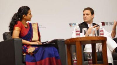राहुल गाँधी का सिंगापूर वाला वीडियो अब विवाद में