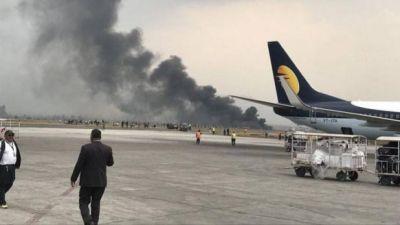 काठमांडू एयरपोर्ट पर यात्री विमान दुर्घटनाग्रस्त