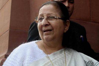 गोवा और देश ने आज एक सितारा खो दिया : सुमित्रा महाजन