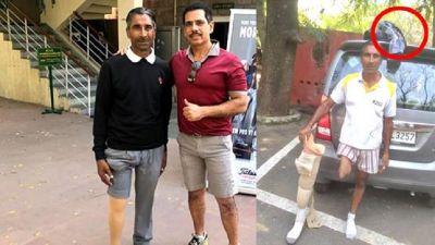 रोबर्ट वाड्रा ने की इस व्यक्ति की मदद, लेकिन दिखाने के लिए उतरवा दी पैंट