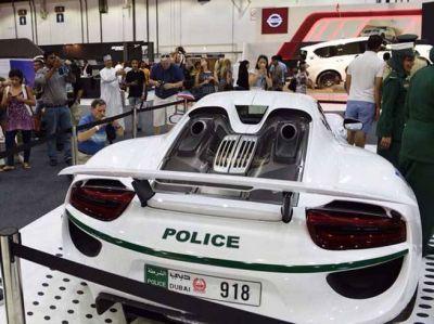 क्या आपको पता है कहाँ  हैं दुनिया की सबसे तेज पुलिस कार